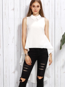 High Low Blouse