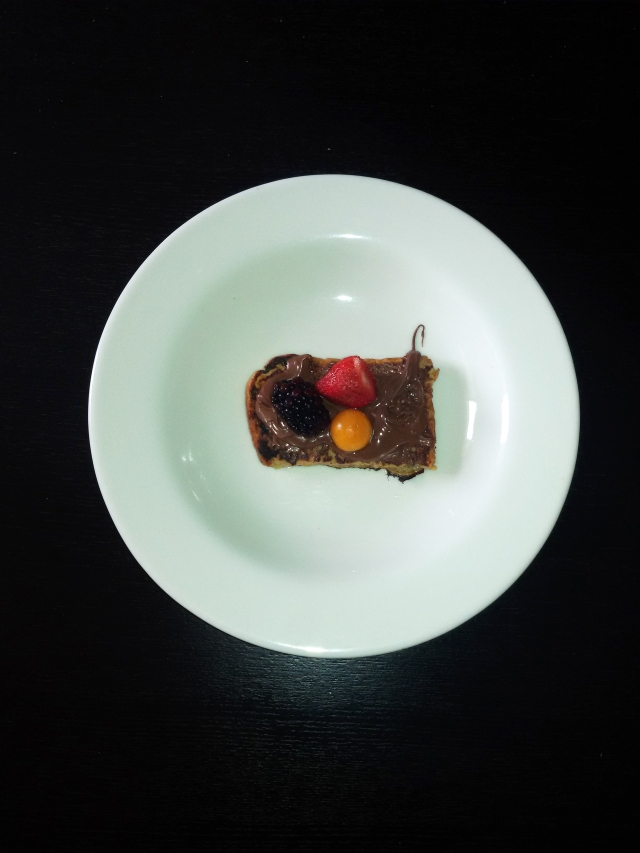 tostadas francesa con nutella