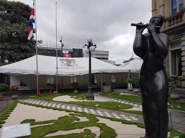 jardin del teatro nacional